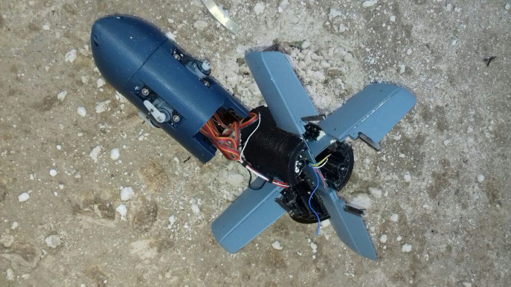3dprinted-guided-bomb