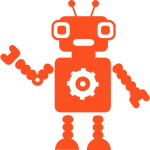 robot-with-a-gear